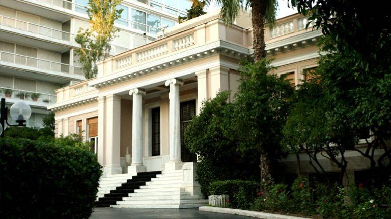 Μαξίμου: Δεν είναι δυνατόν να ζητείται και μάλιστα από τον κ. Τσίπρα παραβίαση της έννομης τάξης
