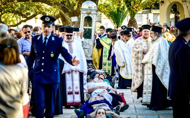 Ξεκίνησαν οι εορτασμοί για τον Άγιο Γεράσιμο προστάτη της Κεφαλονιάς