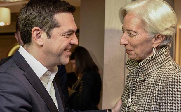 Το τηλεφώνημα του Τσίπρα στη Λαγκάρντ  σε σκληρή γλώσσα ανάγκασε το ΔΝΤ να κάνει πίσω και έτσι γλίτωσαν οι τράπεζες