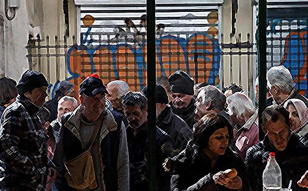 2.000 μπαίνουν στα Ψυχιατρεία <br>για να βρουν φαγητό&#8230;