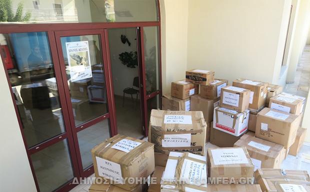 Αποστολή βοήθειας στους κατοίκους της Δυτικής Αττικής από την Ι.Μ. Φθιώτιδος