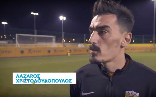 Αποκλειστικά στον ΟΠΑΠ: Τι δηλώνουν οι Χριστοδουλόπουλος-Μπακάκης για τον αποψινό αγώνα της ΑΕΚ με τη Ριέκα