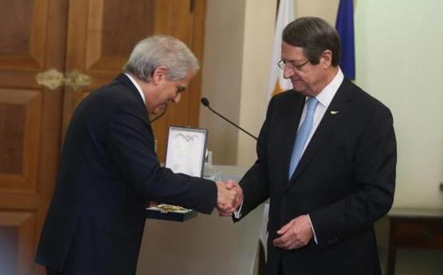 Η Κύπρος τον ευχαριστεί…
