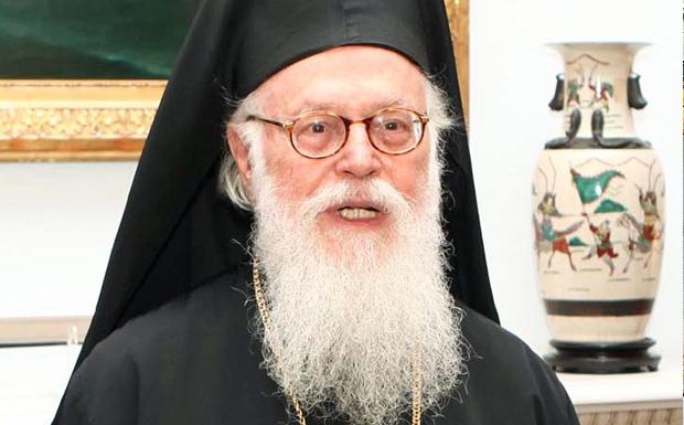 Άθλια επίθεση κατά του Αρχιεπισκόπου Αναστασίου