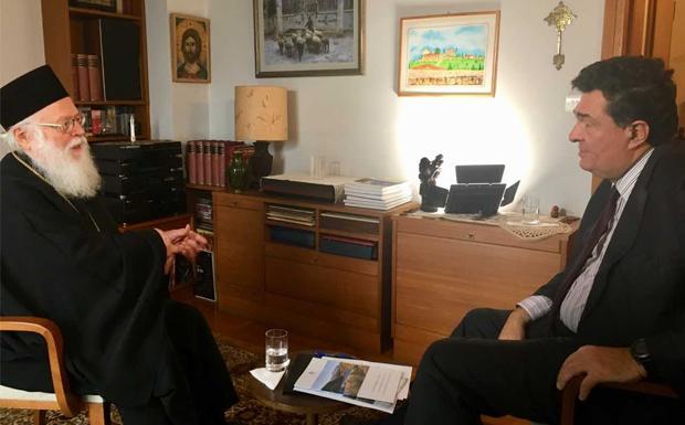(ΒΙΝΤΕΟ) Ο Αρχιεπίσκοπος Αλβανίας Αναστάσιος αποκλειστικά στις ΙΣΤΟΡΙΕΣ