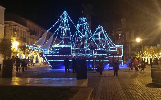 Ένα πειρατικό καράβι με ξωτικά <br>έφτασε στο Ναύπλιο!