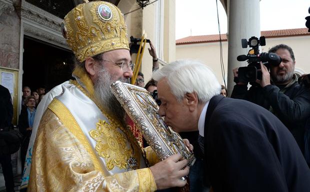 Παυλόπουλος: Ο ρόλος της Εκκλησίας ήταν καθοριστικός για την πορεία του έθνους και του λαού μας