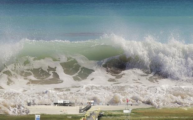 Προετοιμασία για… τσουνάμι!