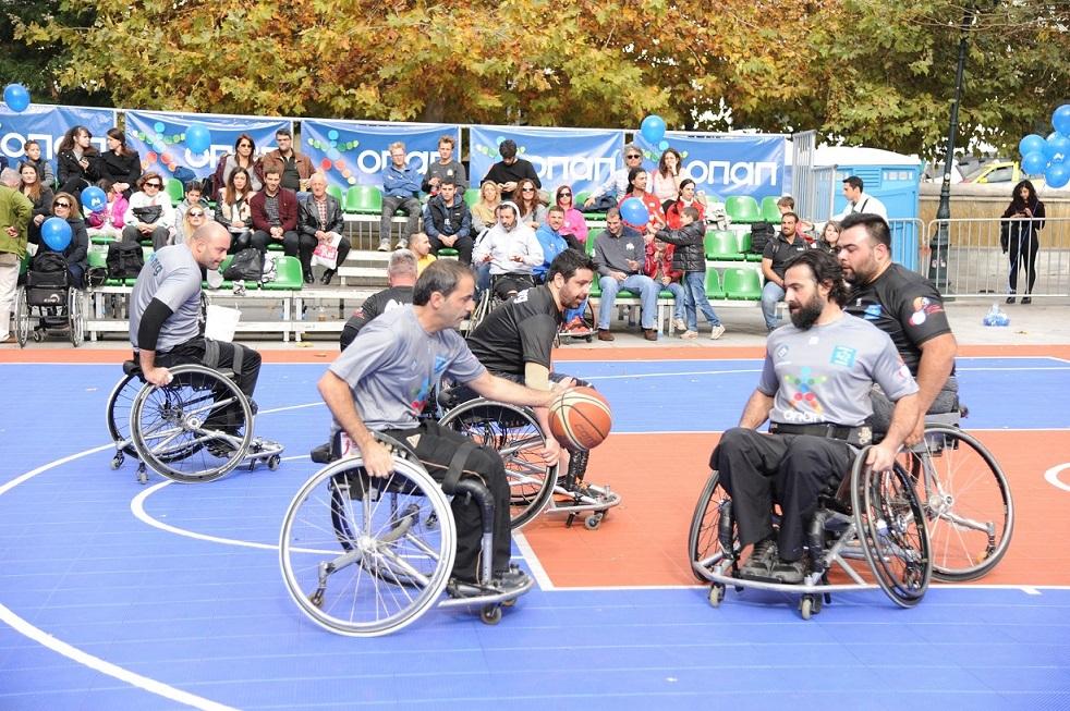 ΟΠΑΠ και ΟΣΕΚΑ τιμούν την Παγκόσμια Ημέρα Ατόμων με Αναπηρία – Μεγάλη γιορτή του αθλητισμού στο Σύνταγμα