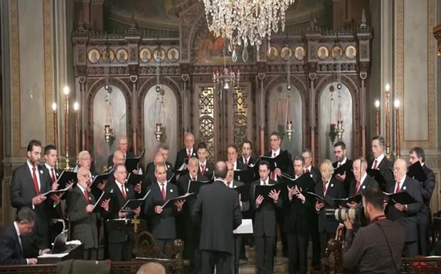 Κεφαλλονίτικα κάλαντα απο τη Χορωδία Ιερού Ναού Αγίου Γεωργίου Καρύκη Αθηνών (βίντεο)