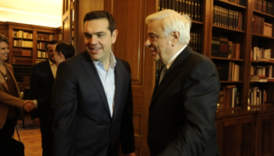 Στις 18:30 η συνάντηση Τσίπρα – Παυλόπουλου