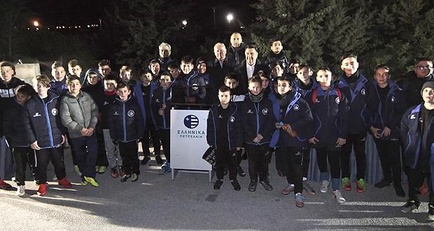 Στη νεολαία Κορδελιού – Ευόσμου προς χρήση το Αθλητικό Πάρκο των ΕΛΠΕ