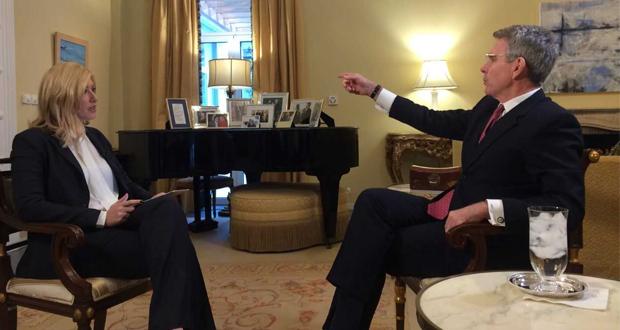Ο Αμερικανός πρέσβης, Τζέφρι Πάιατ στη Σία Κοσιώνη και στις «ΙΣΤΟΡΙΕΣ»