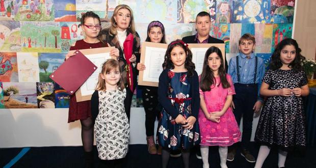 Σύλλογος Ελπίδα: Απονομή βραβείων στους νικητές του μαθητικού διαγωνισμού ζωγραφικής 2017
