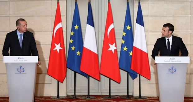 Ο Μακρόν έκλεισε την πόρτα της Ευρώπης στον Ερντογάν