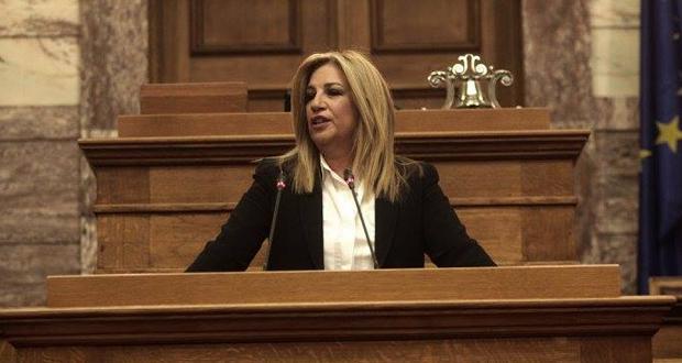 Φώφη: Όσο ο ΣΥΡΙΖΑ και η ΝΔ  μας πολεμούν τόσο θα μεγαλώνουμε