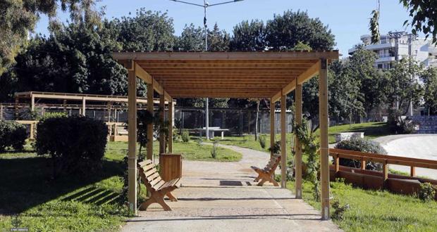 ΔΗΜΟΣ ΓΛΥΦΑΔΑΣ: «Άνοιξε τις πόρτες» το αναμορφωμένο πάρκο της πλατείας Χαρίτων