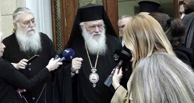 Ιερά Σύνοδος: Ήμασταν ξεκάθαροι, καμία χρήση του όρου «Μακεδονία»