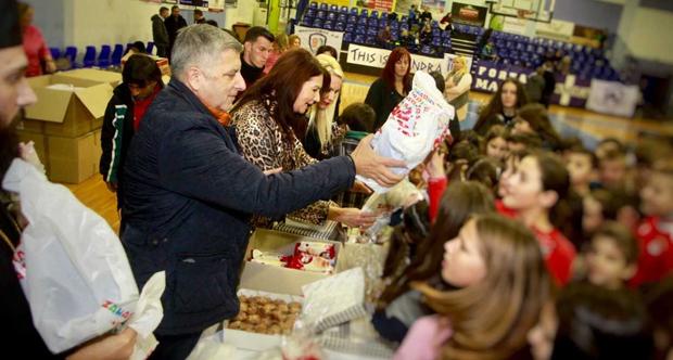 ΚΕΔΕ: Πρωτοχρονιάτικη εορτή, για τα παιδιά των κατοίκων της Μάνδρας