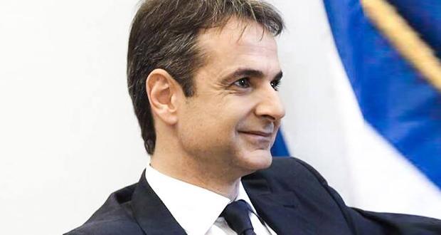 Το… εγκώμιο των προκατόχων του στην ηγεσία της Νέας Δημοκρατίας έπλεξε ο Κυρ. Μητσοτάκης