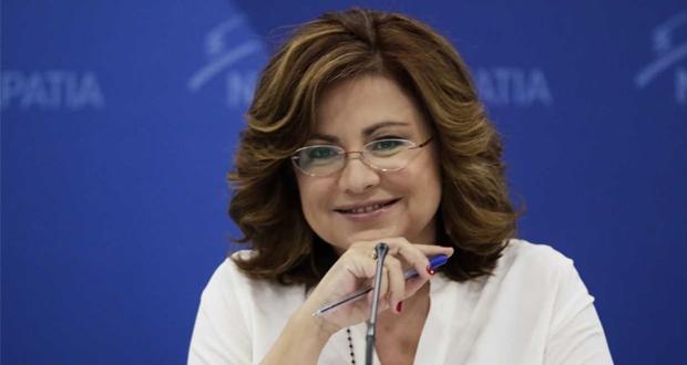 Πληροφορούμαι ότι η εκπρόσωπος Τύπου της ΝΔ Μ. Σπυράκη προωθεί για δήμαρχο Θεσσαλονίκης τη βουλευτή Έλ. Ράπτη