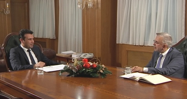 Συνέντευξη του Πρωθυπουργού της FYROM Ζόραν Ζάεφ στον Alpha