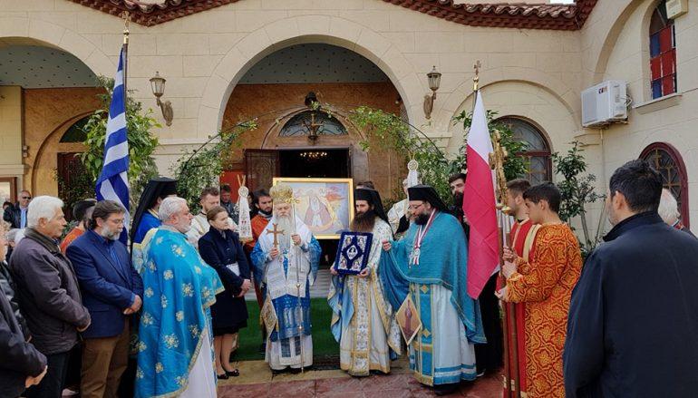 Ο Επίσκοπος Λούτσ στην Αγία Μαρίνα για την Οστρομπράμσκα (φωτο)