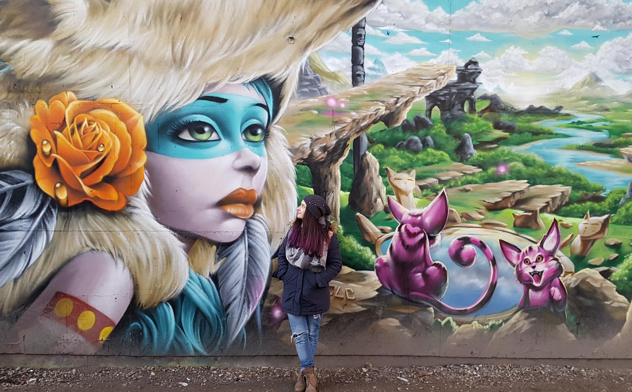 graffiti στις πόλεις της Ευρώπης