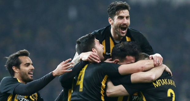 H AEK κάνει πάρτι με καλεσμένο τον Ολυμπιακό