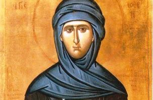 Αγία Φιλοθέη: Το πλουσιοκόριτσο που έγινε καλόγρια…