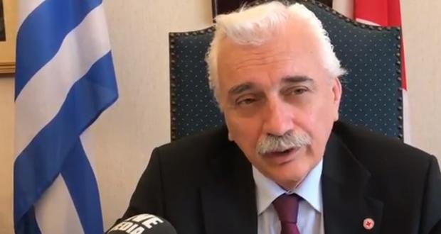 Τελετή Απονομής στον πρόεδρο του Ερυθρού Αντώνη Αυγερινό