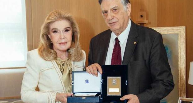 Ο Α. Κουνάδης, στην Ογκολογική Μονάδα Παίδων «Μαριάννα Β. Βαρδινογιάννη – ΕΛΠΙΔΑ»