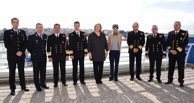H κα. Patsy Wilkinson επισκέφθηκε το Αρχηγείο του Λιμενικού Σώματος – Ελληνικής Ακτοφυλακής