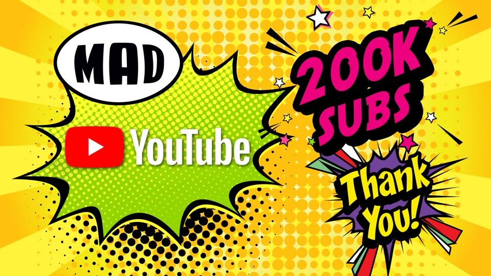 Το Mad TV στο Top3 των ελληνικών media στο YouTube