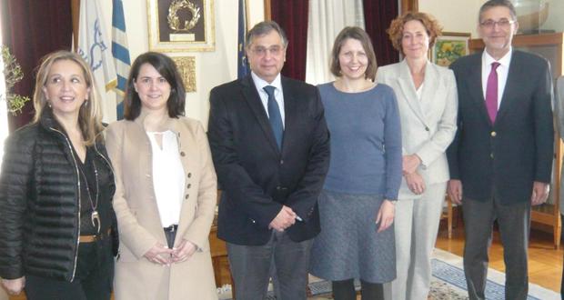 Συνάντηση Προέδρου ΕΣΕΕ & ΕΒΕΠ, κ. Β. Κορκίδη, με εκπροσώπους της Παγκόσμιας Τράπεζας