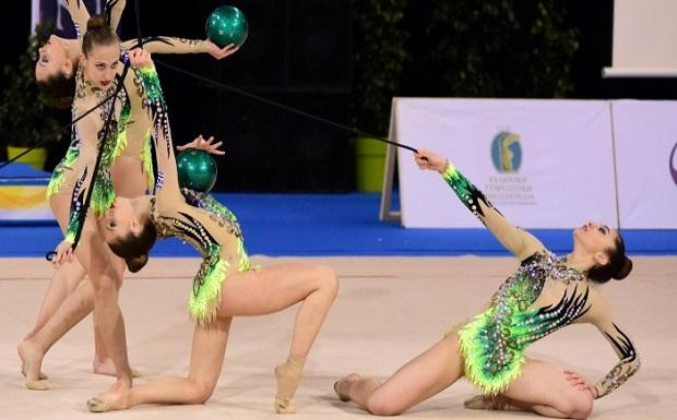 """Η Εθνική ομάδα ανσάμπλ και αθλήτριες της ρυθμικής γυμναστικής από 21 χώρες  δίνουν λάμψη στο 4ο """"Aphrodite Cup"""""""
