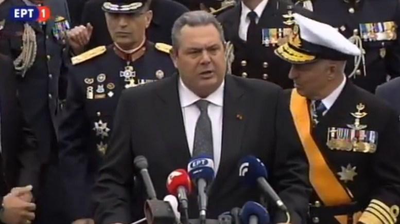 Η έκκληση του Καμμένου στα ελληνικά μέσα ενημέρωσης για τον τουρκικό υβριδικό πόλεμο (βίντεο)