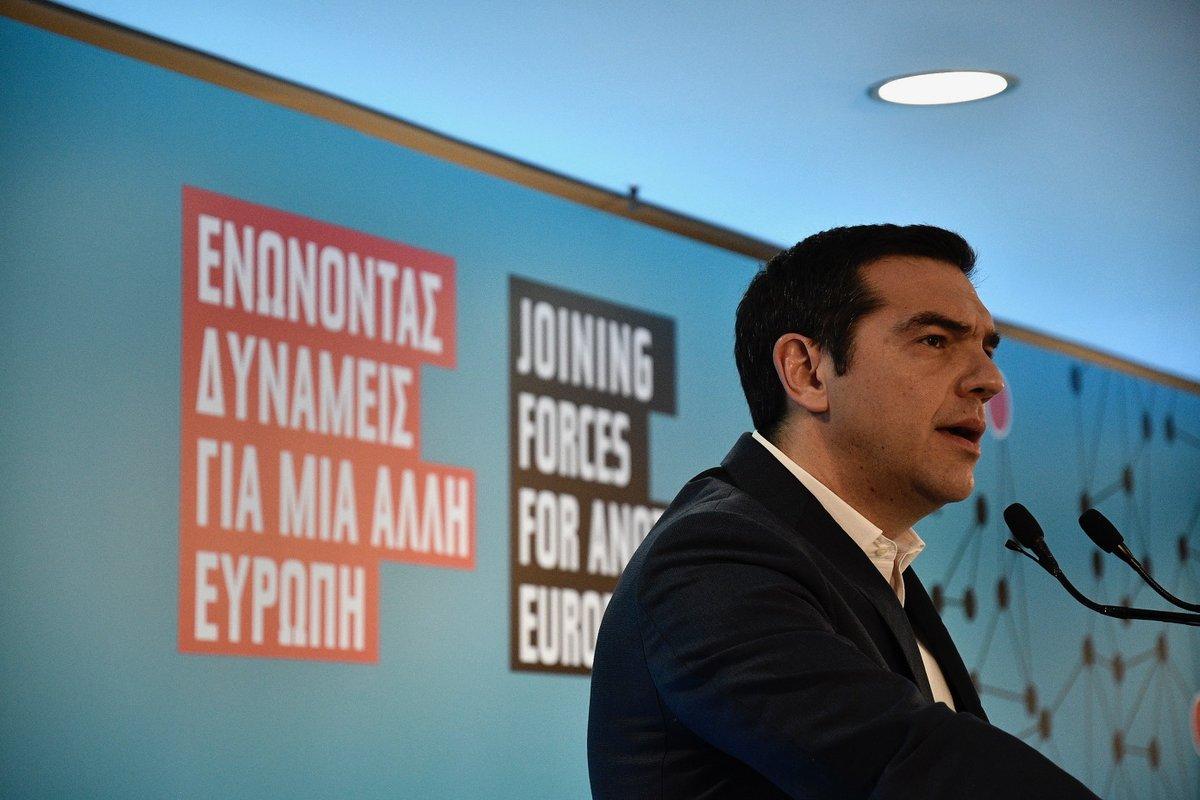 Τσίπρας: Η Ελλάδα σύμβολο της μάχης κατά της λιτότητας