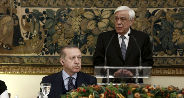 Παυλόπουλος προς Ερντογάν: «Γκρίζες ζώνες» στο Αιγαίο δεν υπάρχουν