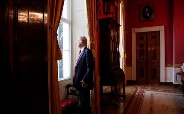 Δεν υπάρχει μέρα που να μη βρεθεί στην επικαιρότητα ο Πρόεδρος Τραμπ