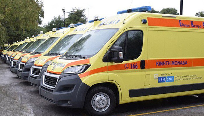 Παράδοση 143 Ασθενοφόρων οχημάτων Peugeot Boxer