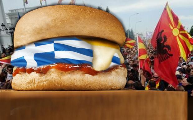 Σάντουιτς ανάμεσα σε Σκόπια και Τίρανα!