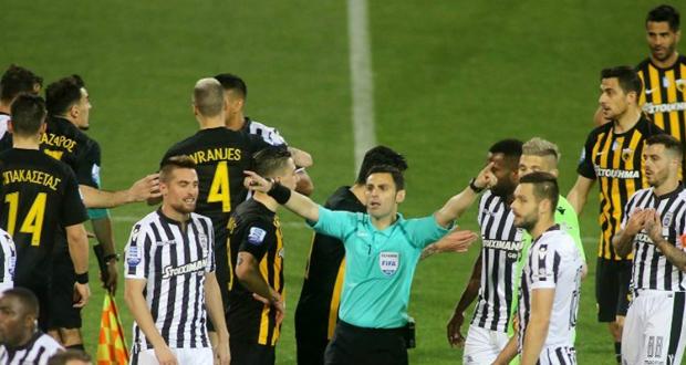 Κατακυρώθηκε το ματς της Τούμπας στην ΑΕΚ, αφαίρεση βαθμών στον ΠΑΟΚ και απαγόρευση εισόδου στο γήπεδο στον Σαββίδη