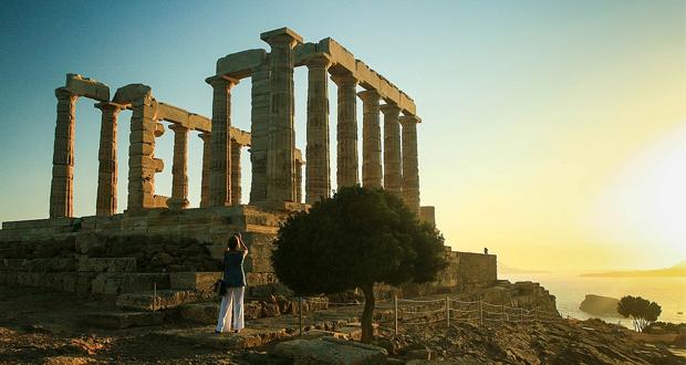 Το BBC άρχισε τα ξημερώματα της Πέμπτης, στον Ναό του Ποσειδώνα, στο Σούνιο…