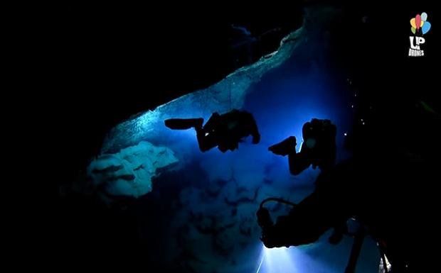 Αμφιτρίτη: Αποστολή στο υποθαλάσσιο σπήλαιο του Αιγαίου – ΔΕΙΤΕ ΤΟ ΠΟΛΥ ΕΝΔΙΑΦΕΡΟΝ ΒΙΝΤΕΟ ΤΩΝ ΟΜΑΔΩΝ Up Drones και top2bottom