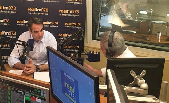 LIVE ΕΙΚΟΝΑ στον realfm: Η συνέντευξη του Κυριάκου Μητσοτάκη στον Νίκο Χατζηνικολάου