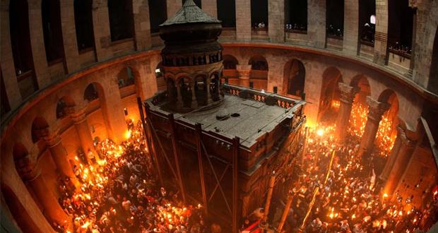 Η Τελετή Αφής του Αγίου Φωτός σε απευθείας δορυφορική μετάδοση