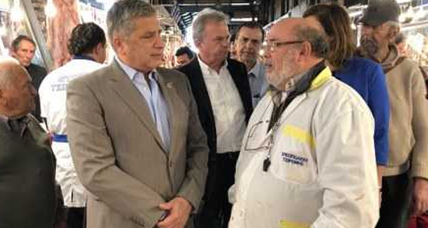 Στη Βαρβάκειο Αγορά ο Πρόεδρος του Ομίλου Ενεργών Πολιτών «Αθήνα Πρωτεύουσα Ξανά» Γ. Πατούλης