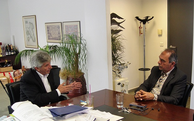 Συνάντηση εργασίας Προέδρου Π.Ε.Δ.Α. Γιώργου Ιωακειμίδη & Δημάρχου Κρωπίας, Δημήτρη Κιούση (βίντεο)
