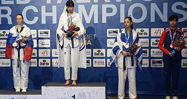 ΤΑΕΚΒΟΝΤΟ: Χάλκινη» παγκόσμια πρωταθλήτρια η Φανή Τζέλη